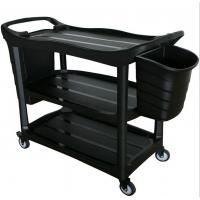 Buy cheap China Customize Plastic food service trolley prices,food trolley for sale product