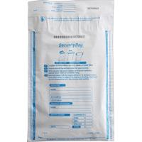 Buy cheap Flexo Printing Tamper Proof Security Bags Permanent Closure With Valve product