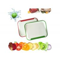 Buy cheap Custom Plastic Cutting Board , Easy Cleaning Kitchen Chopping Board product
