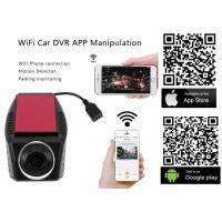 Buy cheap High Definition WiFi Auto Car DVR Camera Digital Upgraded Loop Video Camcorder Driving Recorder DVR-A4 product