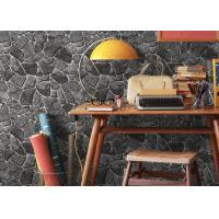 Buy cheap Stone Printing Chinese Style Washable Vinyl Wallpaper For Interior Room Decoration from wholesalers