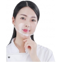 Buy cheap Anti Fog Transparent Mouth Cover For Hotel Kitchen product
