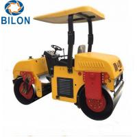 Buy cheap Double Drum Vibratory Road Roller 3 Ton Mount Type Road Roller product