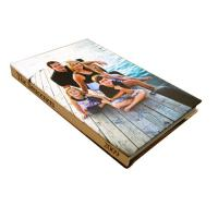 Buy cheap Beautiful Family Memories / Golden Wedding Photo Album 8 x 10 With 0.5mm-1.5mm Inner Pages product