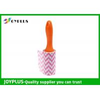 Buy cheap Disposable Lint Roller Remover With Printe Paper Multi Function 6CM / 10CM / 16CM product