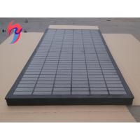 China SS304 or 316 Material Shale Shaker Screen Sieving Mesh Composite Frame on sale