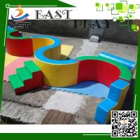 Buy cheap Nursery Indoor Soft Play Equipment Corrosion Resistance 1-2 Player Capacity product