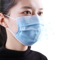 Buy cheap Anti Flu Antiviral Breathable 3 Layer Face Mask product