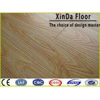 China size ac3/4/5 hdf water resistant waxed click wood floor laminate flooring on sale