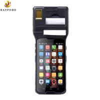Buy cheap 5'' Raypodo Personal Digital Assistant Android 5.1 2D Barcode Scanner PDA With Thermal Printer product