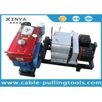 China Double Drum Hoist Winch 5 Ton with Diesel Engine for tower erection wholesale