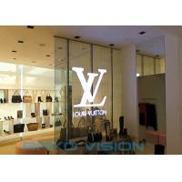 Buy cheap SMD 1921 Transparent LED Screens , P3.9mm Invisible LED Display For Advertising from wholesalers