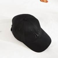 Buy cheap Blank Pattern Cotton Twill Embroidered Baseball Caps Black Color product