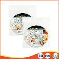 Buy cheap Round Silicone Paper Sheets For Cooking / Baking , Professional Parchment Paper Sheets product