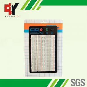 Buy cheap Prototipo rectangular de la tabla de cortar el pan de la electrónica, tablero de prueba electrónico product