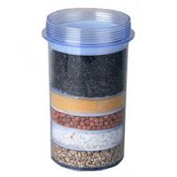 Buy cheap Transparent 5 Layer Household Water Filter Cartridges For Mineral Water Pot product