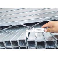China Box Shape Stainless Steel Square Pipe , Square Hollow Steel Tubing Wide Application on sale