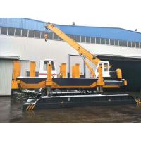 Buy cheap Step Walking Hydraulic Static 7m/min Pile Pressing Machines product