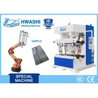 Buy cheap Automatic Spot Welding Machine With Loading Robot , Steel Cabinet Welding Machine product