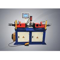 Buy cheap Double Head Tubeend Forming Machine , Semi Automatic Steel Pipe Forming Machine product