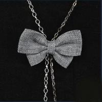 Buy cheap Fashionable Necklace with Fabric Decoration, Available in Various Designs, OEM Orders are Welcome product