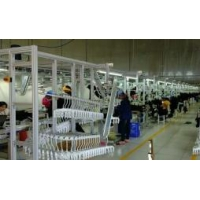Buy cheap Warehouse PLC SS Vertical Conveyor Garment Hanging System product