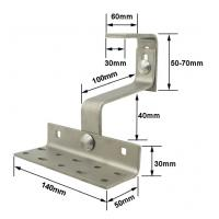 China Solar Roof Hook Solar Rooftop Solar Mounting Hooks stainless steel Tile Hook on sale