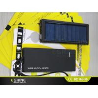 Buy cheap Colorful Slim Patent Design OEM/ODM Solar Power Bank 2500 mAh-3500mAh with LED Light from wholesalers