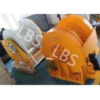 Buy cheap Small Size Tower Crane Winch / Winch Drum with Lebus Groove or Spiral Groove product