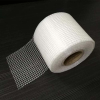 Buy cheap Alkali – proof fiberglass sticky mesh tape for wall gap repairing material from wholesalers