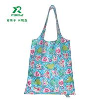 China Fashion recycled foldable polyester oxford bag Custom Nylon Oxford Shopping Bag Gift Bag Reusable Bags polyerster pouch wholesale