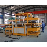 Buy cheap Automatic vacuum forming type Robot arm PS foam takeaway lunch box forming machine product
