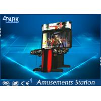 Buy cheap 300W Indoor Shooting Game Machines / Zombie Arcade Machine HD Monitor product