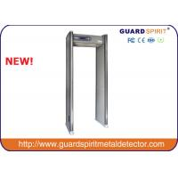 Buy cheap Infrared Control high sensitivity 18 Zones Walk Through Metal Detectors Gate For Security Inspection from wholesalers