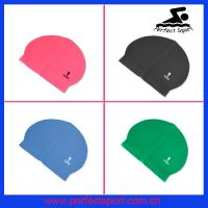 China swimming hat,latex swim caps,flag swim cap wholesale