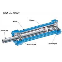 Buy cheap Earring Double Acting Telescopic Hydraulic Cylinder for Agricultural Farm Truck product