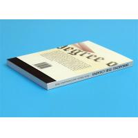 Buy cheap Softcover Book Novel Book Printing Services , Glue Sewing Binding By Automatic Binder product