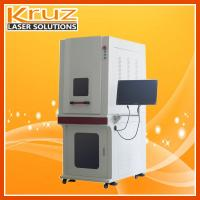 Green laser marking machine, mark on the glasses no need of maintenance;Stable performance, automative operating