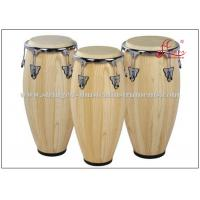 Buy cheap Percussion Musical Conga Drum Instrument With True Skin Cow Heads Chrome Plated Hardware product