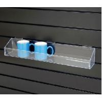Buy cheap High Quality Beautifu Shape Acrylic Shelves For Slatwall product