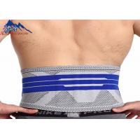 Buy cheap Professional High Quality Sport Waist Belt Knitting Safety Back Support Waist Slimming Belt product