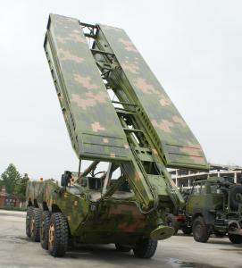 Buy cheap Wheel Type Striking Bridge / Emergency Bridge / Amphibious Bridge LD-25 Load Capacity product