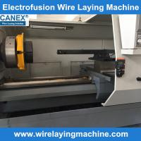 Buy cheap equipment for production electro fusion fitting - canex electrofusion fittings wire laying product