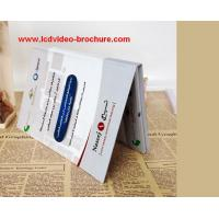 China Digital Business Card / Video Direct Mail With Hard Cover / Multi -Pages / Languages on sale