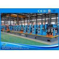 Buy cheap HG114 Blue Steel Pipe Production Line Carbon Steel Large Size 100m / Min Mill Speed product