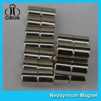 Buy cheap Long Life N40H Neodymium Permanent Magnets Cylinder For Medical Products product