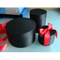 China Fabric covered gift box with foaming in side box on sale