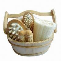 Buy cheap Bath Gift Set, Made of Wooden, OEM Orders are Welcome, Graceful Design from wholesalers