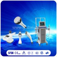Quality Safely  Vacuum Slimming Machine combine Vacuum suction RF + Infrared Light + Roller for sale