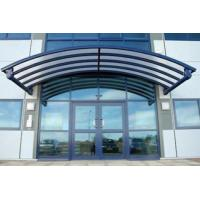 Buy cheap Rain Shed Platform Stainless Steel Canopy , Glass Canopies For Commercial Buildings product
